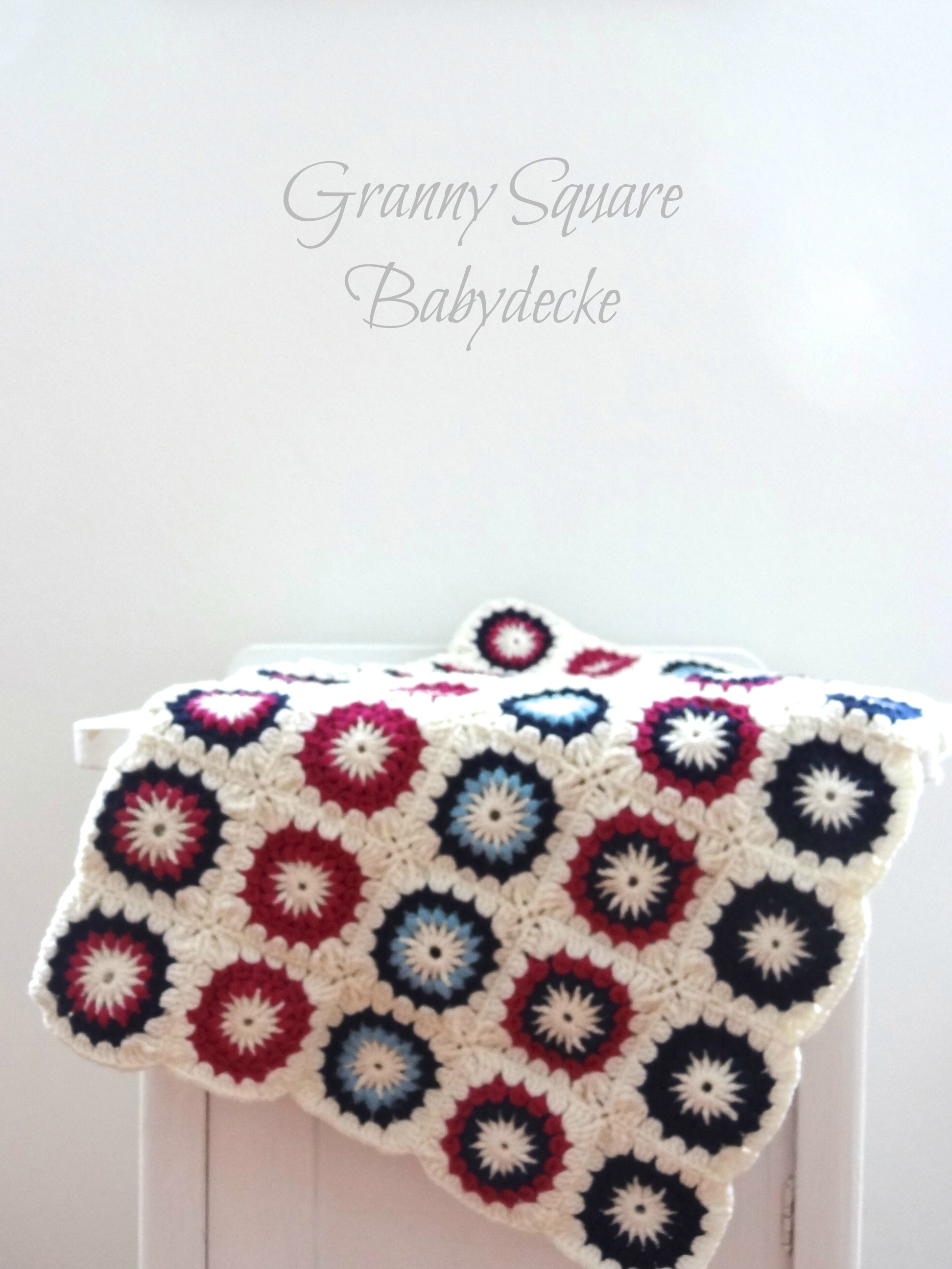 Do-it-yourself: Granny Square Babydecke – sweet times