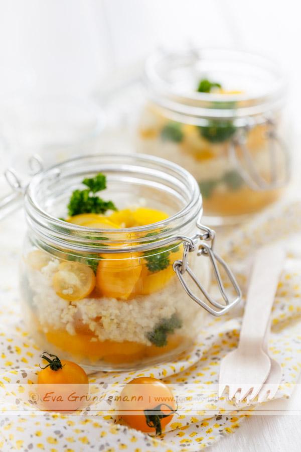 Gelber Bulgur-Salat