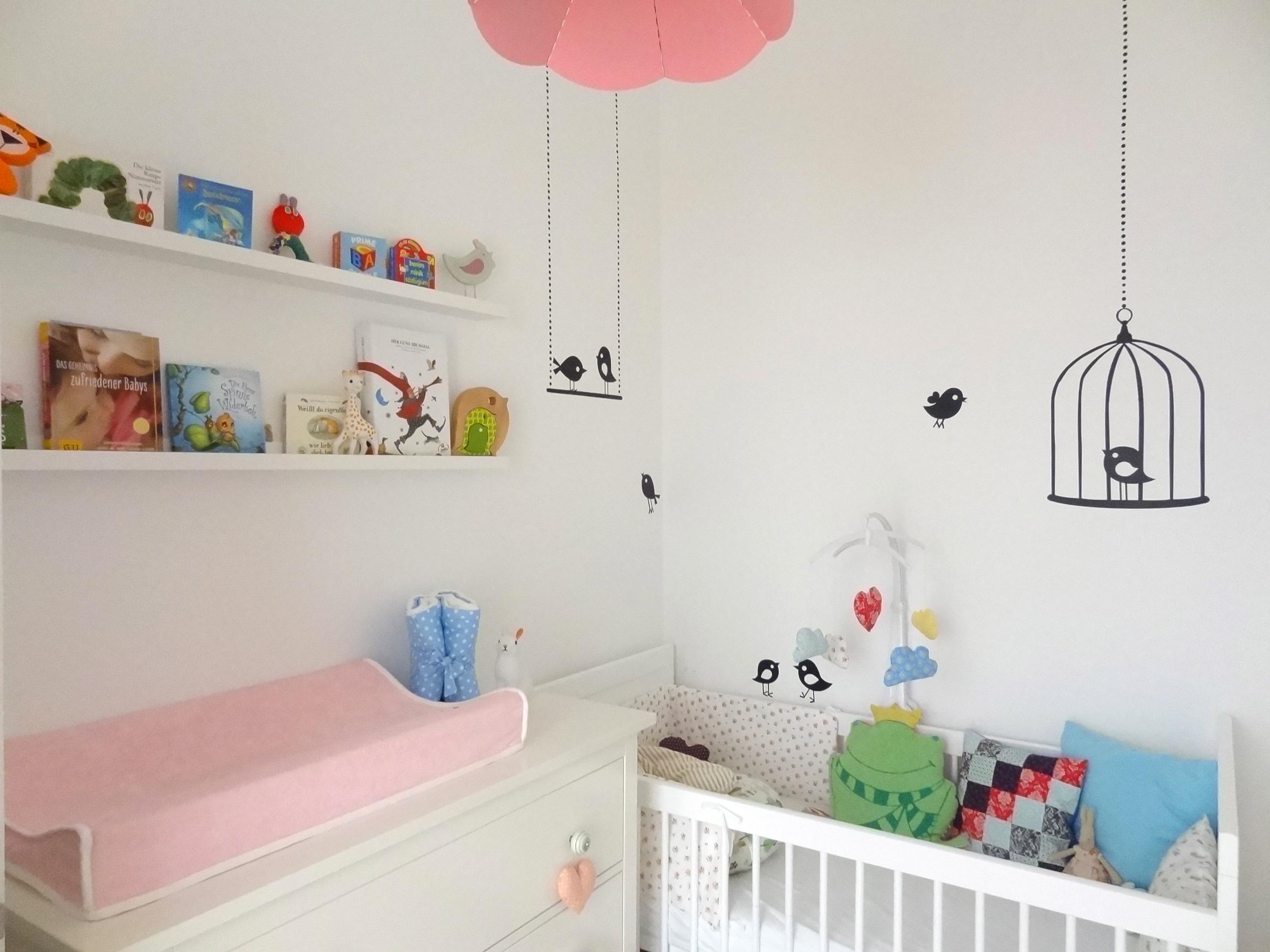 Einblick ins kleine rosa, Babyzimmer – sweet times | {Kleines babyzimmer 6}